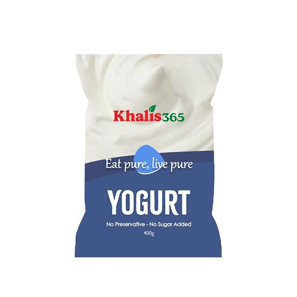 Khalis Yogurt Pouch- 400g