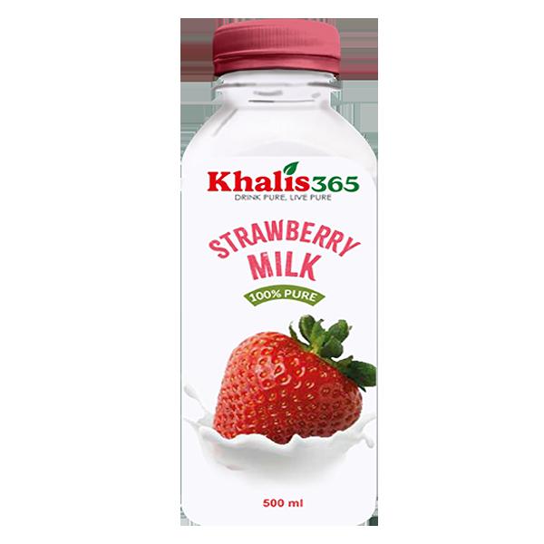 Khalis Strawberry Milk- 500ml